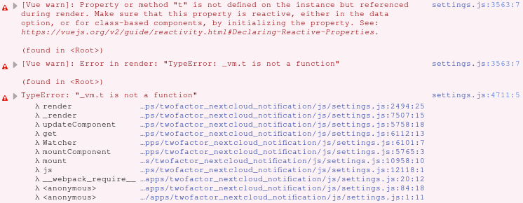 TypeError: _vm.t is not a function